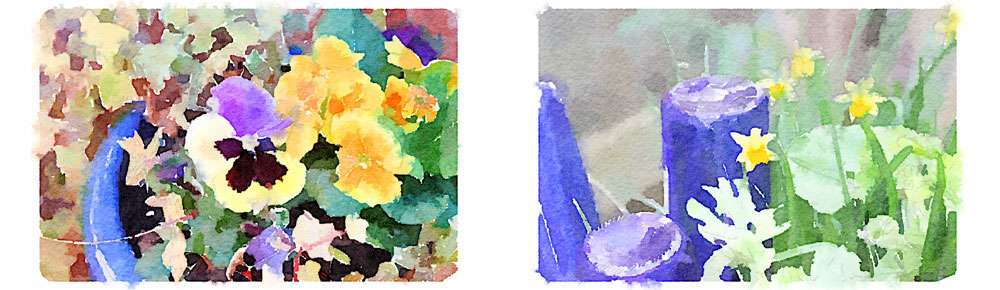 Waterlogue app for iPhone