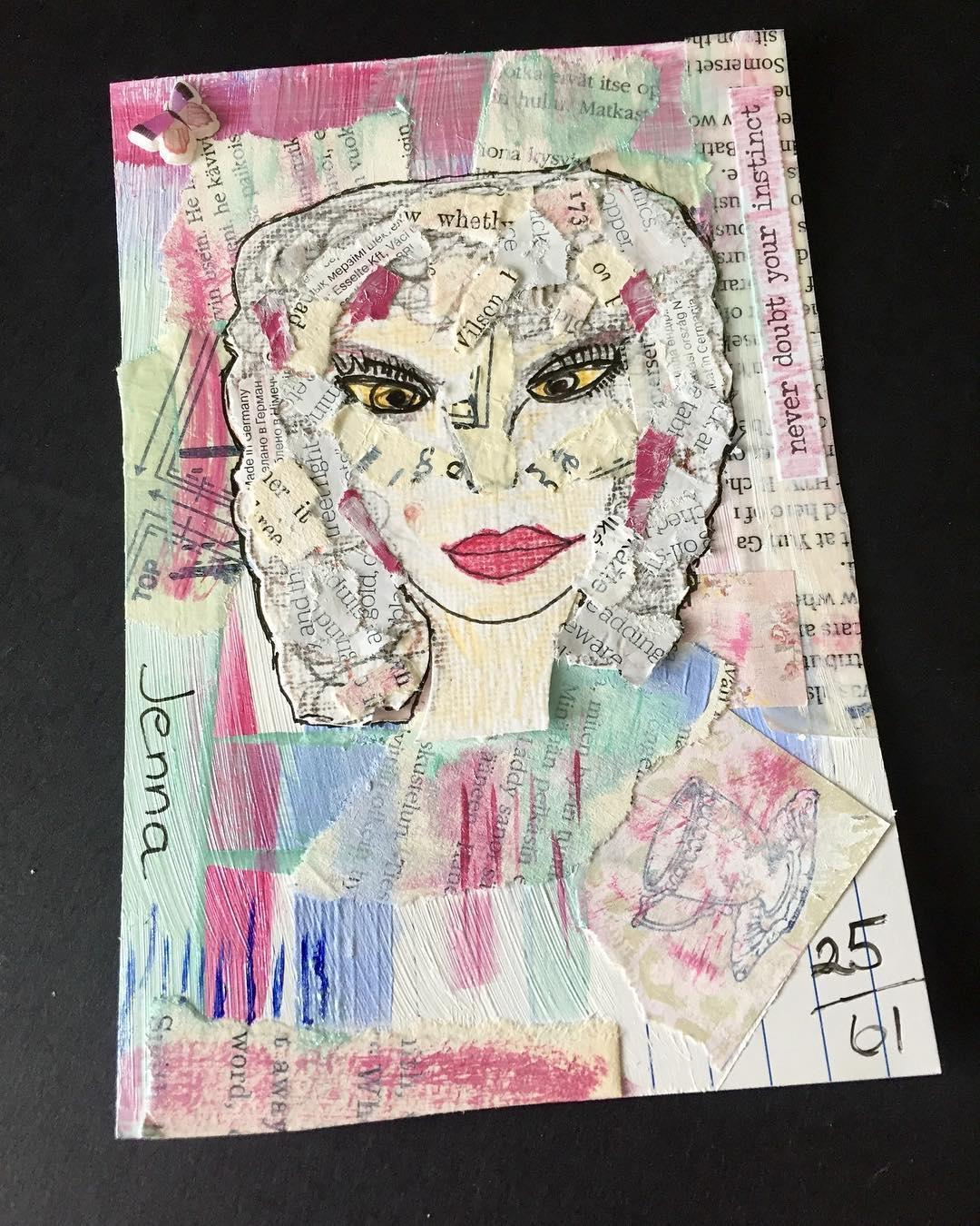 ICAD 2561 Prompt is Portrait Portrait 2 ways all myhellip