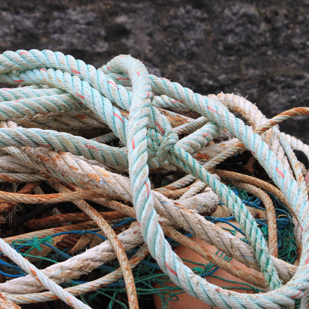 Looking at ropes around the harbour at Mevagissey Cornwall Continuehellip