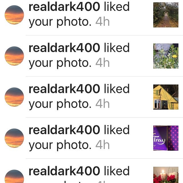 realdark400 thank you for all the IG love  thishellip