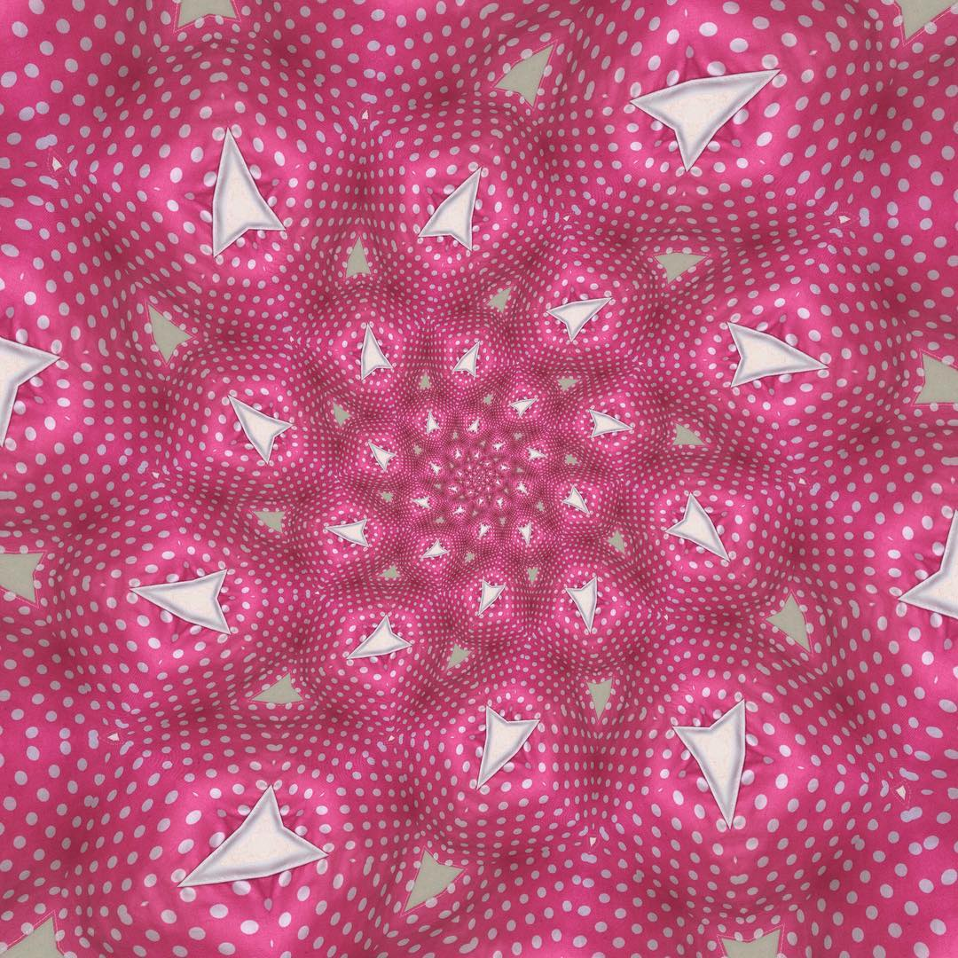 Day 2730 with kaleidacam This is a pink spotty buntinghellip
